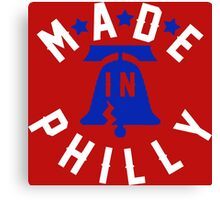 Made In Philly Canvas Print