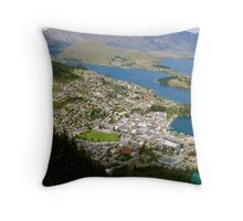 Queenstown and Beyond Throw Pillow