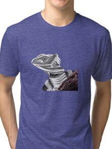 Robot Reptile Tri-blend T-Shirt