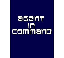 Agent in Command Photographic Print