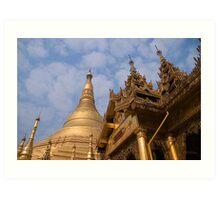 Shwedagon paya Art Print