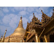 Shwedagon paya Photographic Print