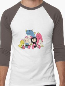 Bomberman Men's Baseball ¾ T-Shirt