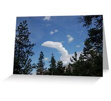Cumulus Greeting Card