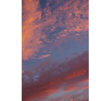 Under A Pink/Blue Sky Photographic Print