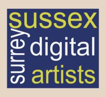 Sussex & Surrey Digital Artists Group Style 2 by Paul Rumsey
