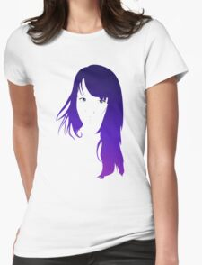 Purple Vector Womens Fitted T-Shirt
