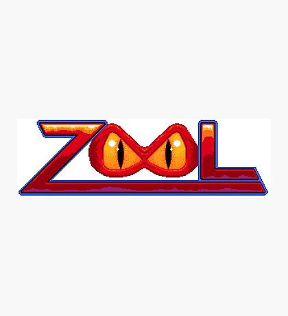 Zool - SNES Title Screen Photographic Print