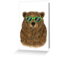 Bosley Bear Greeting Card