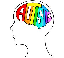 Autistic Mind Photographic Print
