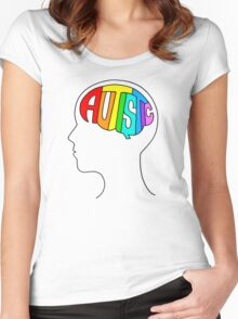 Autistic Mind Women's Fitted Scoop T-Shirt