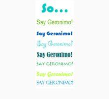 "Sheppard ""Geronimo!"" Men's Baseball ¾ T-Shirt"