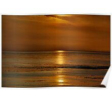 Evening At The Wadden Sea Poster