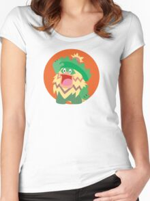 Ludicolo - 3rd Gen Women's Fitted Scoop T-Shirt