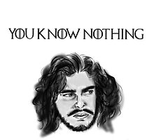 """You Know Nothing Jon Snow"" by Kevin-K"