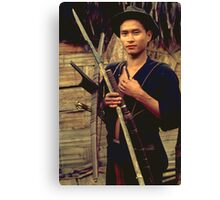 Ancient weapons Canvas Print
