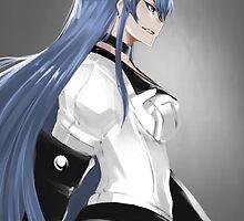 Akame ga Kill, Red Eyes Sword - Esdeath by ghoststorm