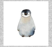 Cute animal No.2 Shy Penguin Kids Tee