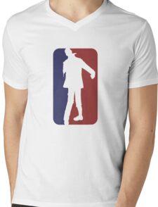 Major League Zombie Mens V-Neck T-Shirt