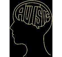 Autistic Mind – Yellow Photographic Print