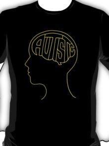 Autistic Mind – Yellow T-Shirt