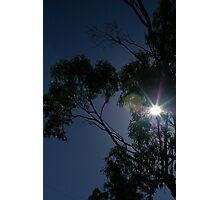 Morning sunshine along the Calder highway Photographic Print
