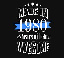 Made in 1980 35 years of being awesome T-Shirt