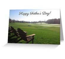 Fairway Observers (Father's Day) Greeting Card