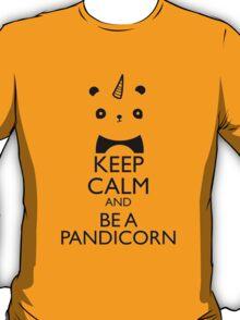 T-Shirt Keep-Calm Be a Pandicorn T-Shirt