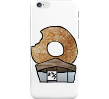The 'Real' Donut Store. iPhone Case/Skin