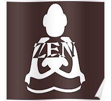 zen white Poster