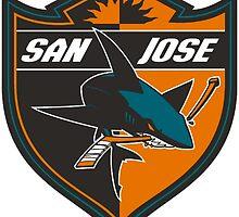 San Jose Sharks  by miscojones