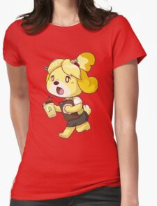Early Bird (or Dog) Womens Fitted T-Shirt