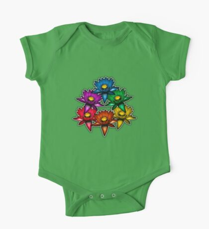 Pride Lilies Pyramid One Piece - Short Sleeve