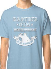 Gaston's Gym White Classic T-Shirt