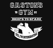 Gaston's Gym White Unisex T-Shirt