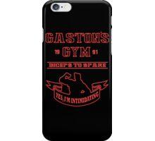Gaston's Gym Red iPhone Case/Skin