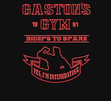 Gaston's Gym Red Unisex T-Shirt