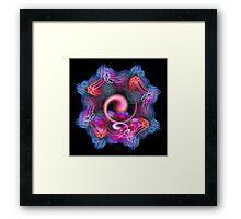 'LightFlower Seed 2' Framed Print