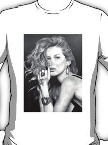 Gisele Bündchen in Graphite Pencil T-Shirt