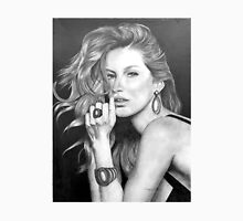 Gisele Bündchen in Graphite Pencil Unisex T-Shirt