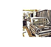 """""""An Extremely Popular Squad Car""""... prints and products by © Bob Hall"""