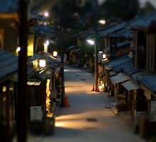 Higashiyama Tilt Shift by Pepijn Sauer