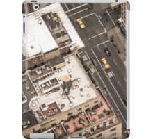 Vintage photograph of the streets New York City iPad Case/Skin