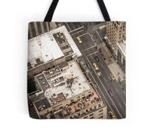 Vintage photograph of the streets New York City Tote Bag