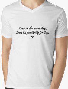 Caskett Joy Mens V-Neck T-Shirt
