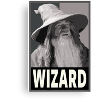 Wizard Canvas Print