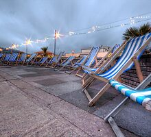 Teignmouth deckchairs by benivory
