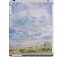 3744 Cloud Guide A 3  iPad Case/Skin