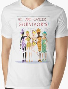 We Are Cancer Survivor's ~ LMG (C) 2015 Mens V-Neck T-Shirt